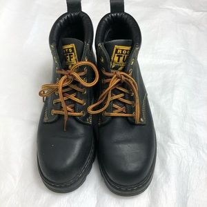 Roots Work Tuff Boots Tribe Sz 8